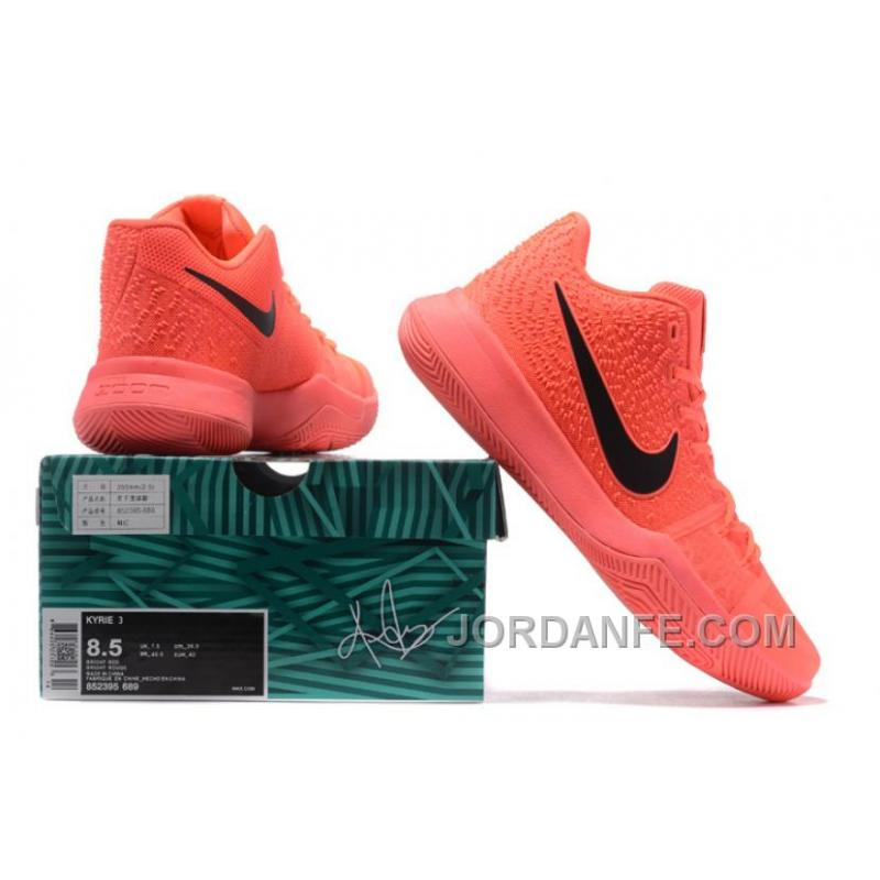 1829be04121 USD  95.00  275.50. Nike Kyrie 3 Mens BasketBall Shoes All Orange Authentic  ...