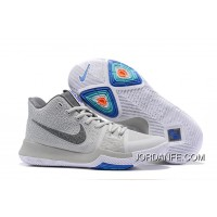 "Nike Kyrie 3 ""Wolf Grey"" New Style"