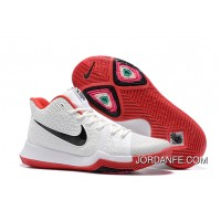 Nike Kyrie 3 White Red Black Cheap To Buy