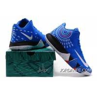 Nike Kyrie 4 Mens Basketball Shoes Royal Blue For Sale