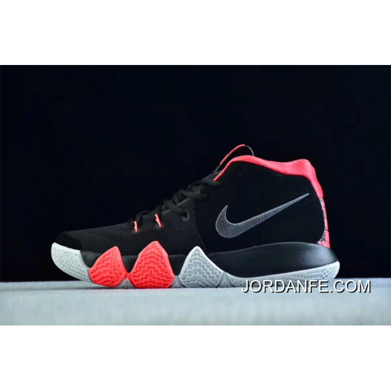 online store a87d7 bffcc Latest Nike Kyrie 4 Black-Solar Red
