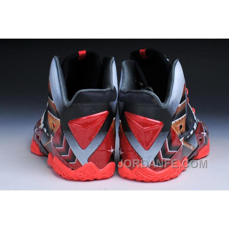 e5c5fcccf45 ... Nike LeBron 11 Mark 6 Ironman Customs Hot ...