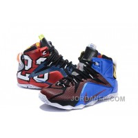 """Nike LeBron 12 """"What The"""" Multi-Color/Multi-Color For Sale Discount"""