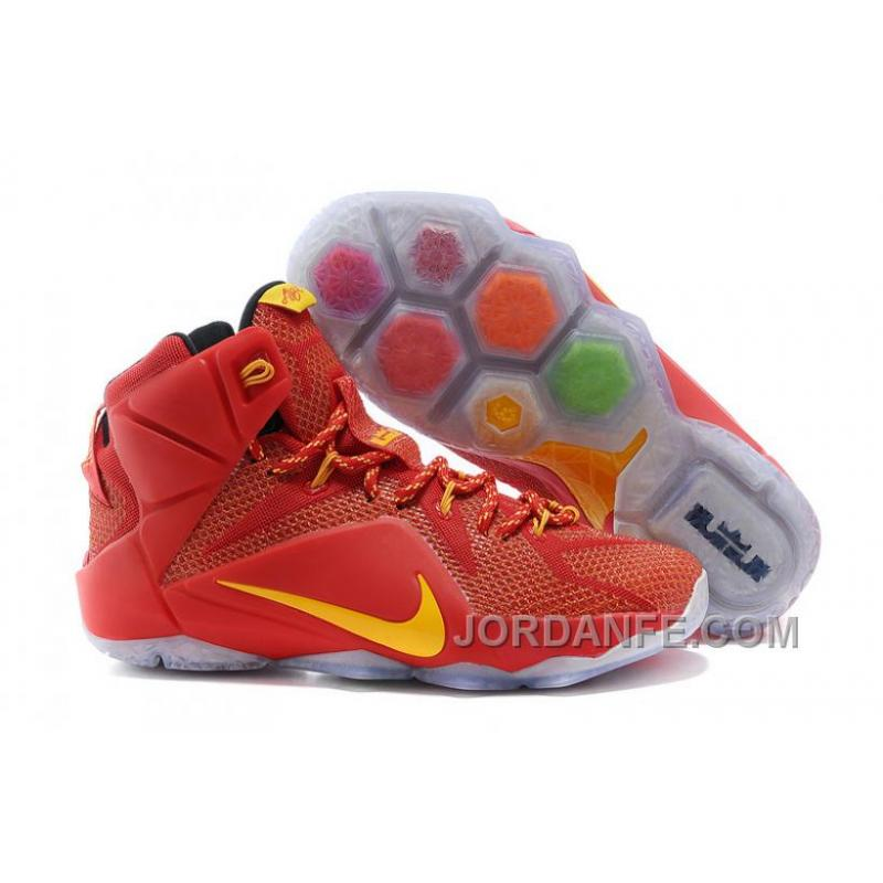 brand new a443b 17d22 Nike LeBron 12 CAVS PE Authentic