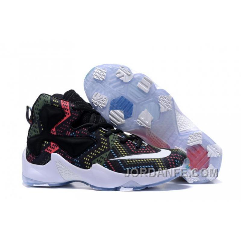 e60befc4d9ada ... where to buy nike lebron 13 grade school shoes black history month  authentic f024a 1d781