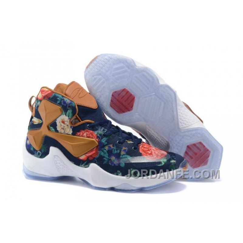 10835e835641 USD  85.75  99.18. Nike LeBron 13 Grade School Shoes Floral New Release ...