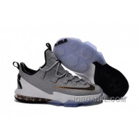 Nike Lebron 13 Low Cool Grey New Arrival