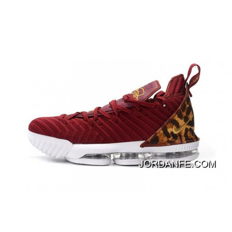 "64aaa18b6b36 Authentic Nike LeBron 16 ""King"" Team Red Metallic Gold-Multi Color ..."
