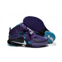 "Nike LeBron Soldier 9 ""Summit Lake Hornets"" Basketball Shoe New Release"