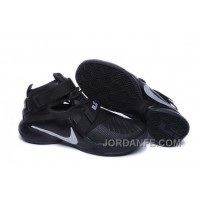 Nike Lebron Soldier 9 All Black Discount