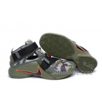 Nike Lebron Soldier 9 Army Camo Authentic