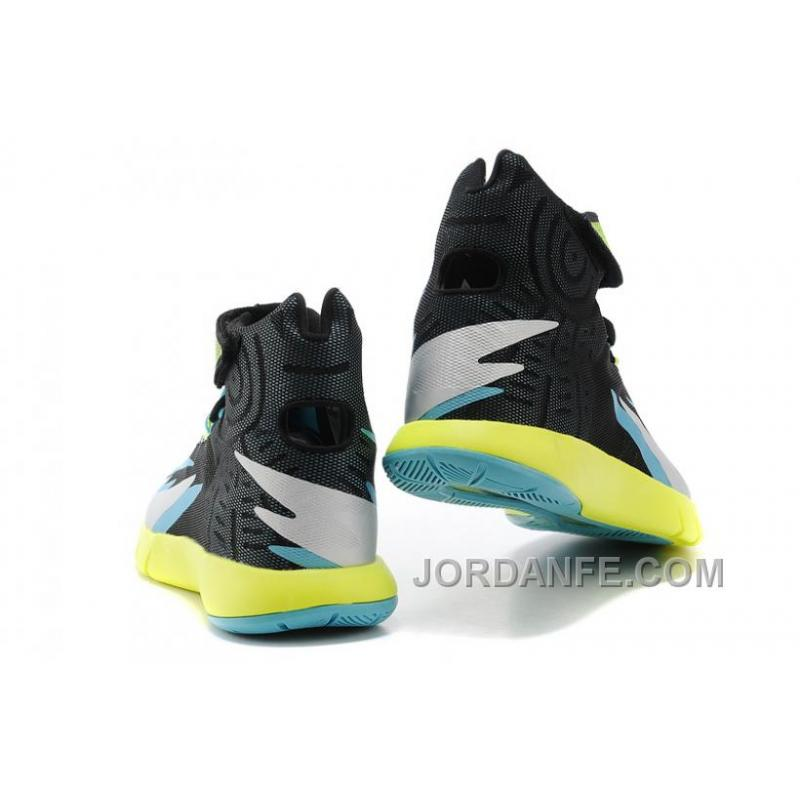 size 40 0c4e0 9eb16 ... Nike Zoom Hyperrev KYRIE IRVING Black Venom Green Metallic Silver Turbo  Green New ...