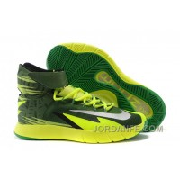 Nike Zoom Hyperrev KYRIE IRVING Black/Metallic Silver/Electric Green For Sale Hot