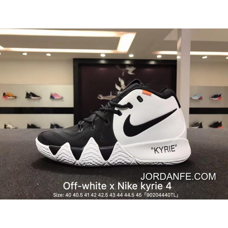 17793faa5c25 Nike Kyrie Off-White 4X18 Spring Kyrie Ep Irving Creative To Be Customized  Men Basketball Sports Shoes Combat Weapon Light Combat Coding Real Air  Jordan 16 ...