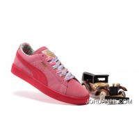 PUMA SPORTSTYLE SUEDE Womens Colorful Pink Super Deals