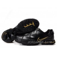 Men's Nike Shox R5 Shoes Black/Golden Authentic