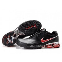 Men's Nike Shox R5 Shoes Black/Red Online
