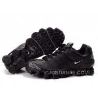 Men's Nike Shox TL Shoes Black Super Deals