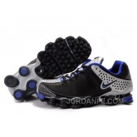 Men's Nike Shox TL Shoes Black/Blue/Silver For Sale