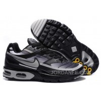 Men's Nike Shox TR Shoes Black/Grey For Sale