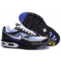 Men's Nike Shox TR Shoes Black/White/Blue Top Deals