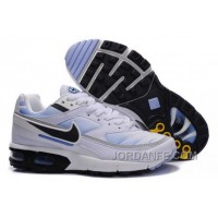 Women's Nike Shox TR Shoes White/Black/Light Blue Free Shipping