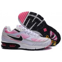 Women's Nike Shox TR Shoes White/Black/Pink Lastest