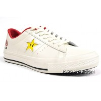 Super Mario Bros.x Converse One Star 40+1C678 (31) White New Style