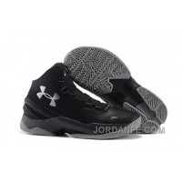 """Under Armour Curry 2 """"The Professional"""" Black Grey Silver Shoes For Sale Authentic"""
