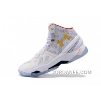 UA Curry Two All White Authentic