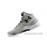 UA Curry Two Gray Storm (052) / White Online