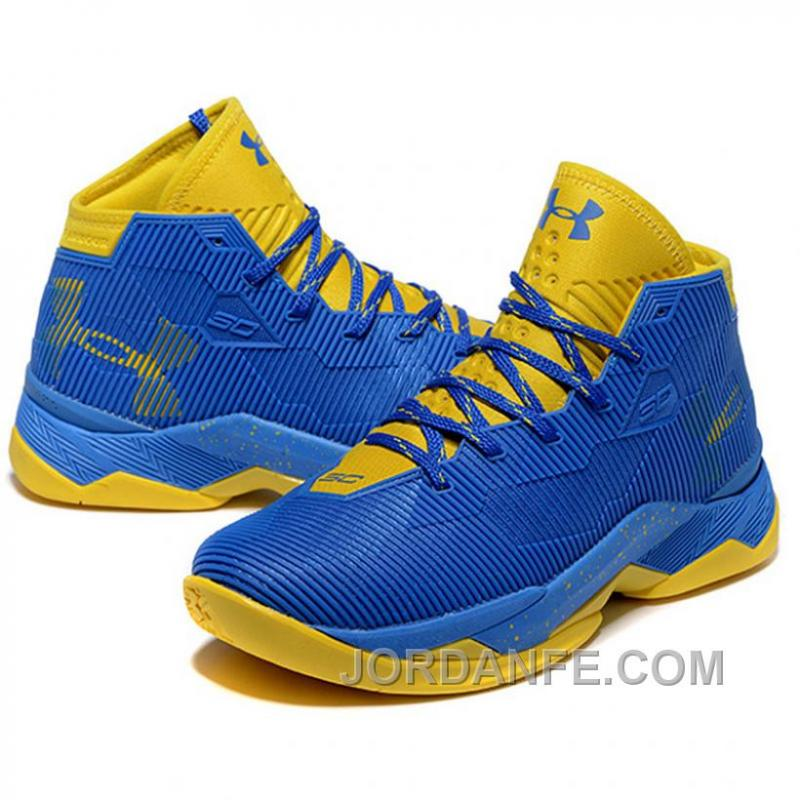 78deb54d0bfc Under Armour Stephen Curry 2.5 Royal Golden Basketball Shoes Xmas ...