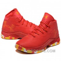 Under Armour Stephen Curry 2.5 Red Basketball Shoes Xmas Deals