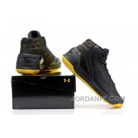 Under Armour Stephen Curry 3 Shoes Black Yellow New Arrival
