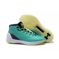 Under Armour Stephen Curry 3 Shoes Tiffany White For Sale