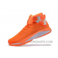 UA Curry New Mens Basketball Shoes Orange Authentic