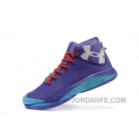 UA Curry New Mens Basketball Shoes Purple Online