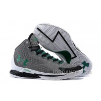 "Under Armour UA Curry One ""Golf"" Grey-Green/Scratch White Shoes For Sale Discount"