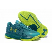 Womens Under Armour Curry One Low Green Volt New Release