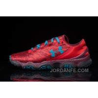 Buy UA Speedm XC Red Blue Mens Running Shoes For Sale