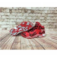 Under Armour Anatomix Spawn 2 Red Black Sneaker For Sale