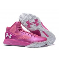 Under Armour ClutchFit Drive 2 Men Basketball Shoes Pink White Cheap To Buy