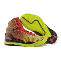 Under Armour Clutchfit Drive Custom Red Yellow Black Sneaker Cheap To Buy