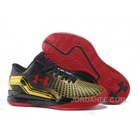 Under Armour Clutchfit Drive Low Golden Red Sneaker New Release