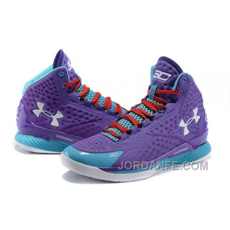 cddd067030a0 ... Under Armour Curry One Kids Purple Month Sneaker For Sale