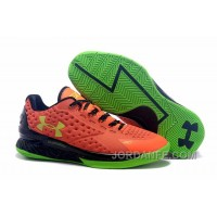 Under Armour Curry One Low Women Orange Green Sneaker New Release