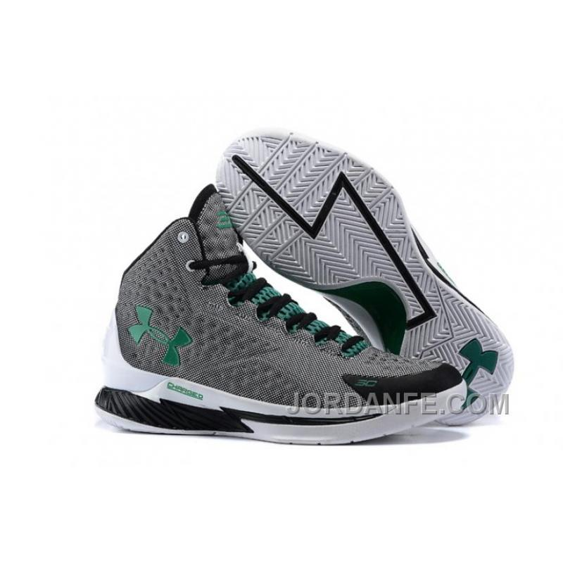 USD  81.05  226.95. Under Armour Curry One Women Black Gray Green Sneaker  ... 2070e24fb