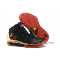 Under Armour Curry One Women Black Red Sneaker Lastest