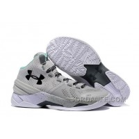 Under Armour Curry 2 Cool Grey PE Sneaker Free Shipping