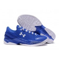 Under Armour Curry 2 Low Blue White Sneaker Lastest